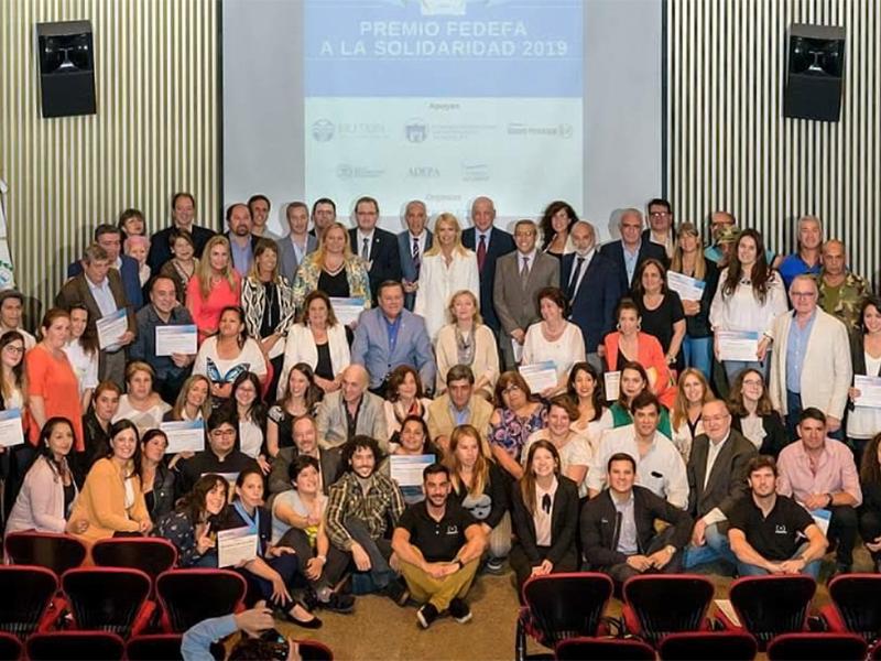 Premio Fedefa a la Solidaridad 2019
